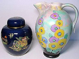 Carlton Ginger Jar Etc