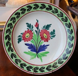 "Large ""Auld Heather Ware"" Plate"