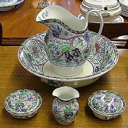 Spode Ewer & Basin SET