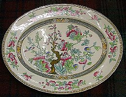 Wedgewood Indian Tree Ashet C1860