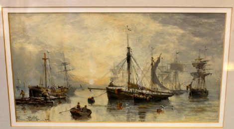 J Jack watercolour Dated 1877